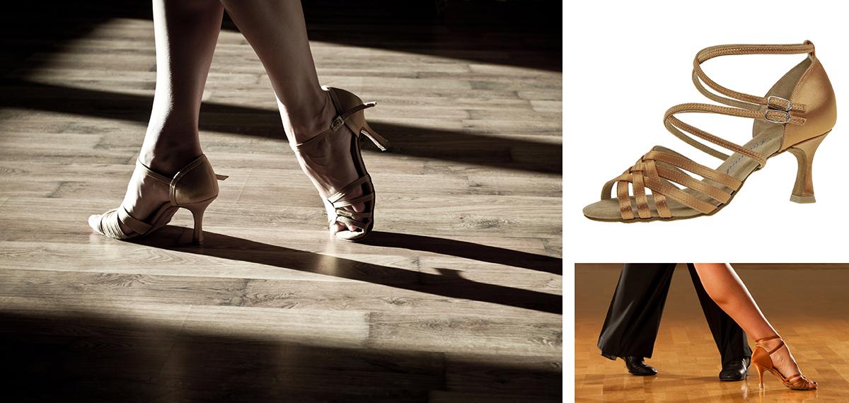 Harr Tanzschuhe für Standard, Latein, Satin, Flamenco