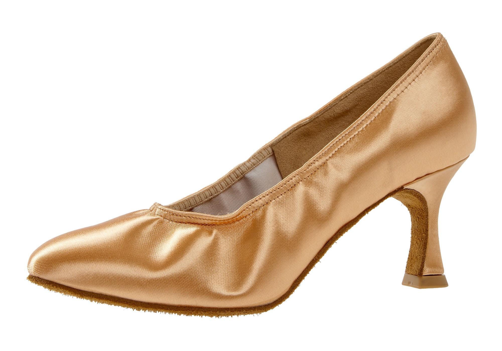 Diamant Damen Tanzschuh Standard 069-085-094 beige Satin