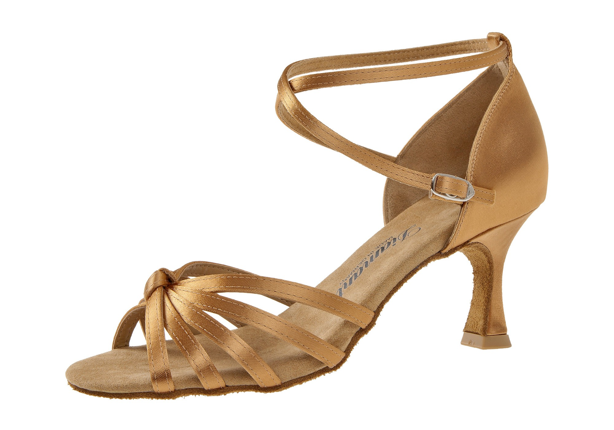 Diamant Damen Tanzschuh Latein 109-087-087 bronze Satin