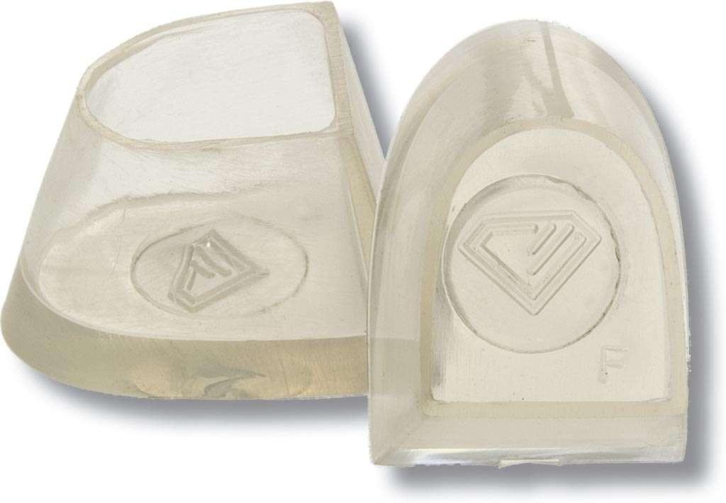 Diamant Tanzschuh Flare Absatzschoner transparent HW02980, transparent