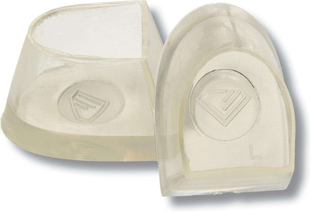 Diamant Tanzschuh Latino Absatzschoner transparent HW02995, transparent