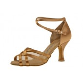 Diamant Damen Tanzschuh Latein 035-108-087 Bronze Satin