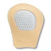 Diamant Tanzschuh Rutschbremse beige Leder HW04937, beige