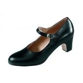 Harr Damen Flamencoschuh 230 schwarz schwarz