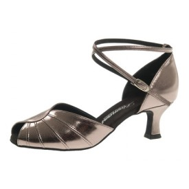 Diamant Damen Tanzschuh Latein 027-077-072 bronze synthetik
