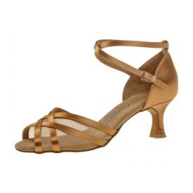 Diamant Damen Tanzschuh Latein 035-077-087 Bronze Satin