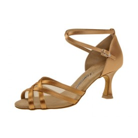 Diamant Damen Tanzschuh Latein 035-087-087 Bronze Satin