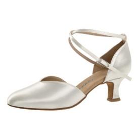 Diamant Damen Tanzschuh Standard 105-068-092 weiß Satin