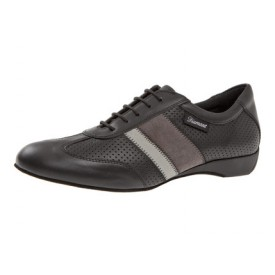 Diamant Herren Tanzschuh Ballroom Sneaker 124-225-159 schwarz Nappaleder