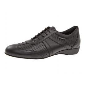 Diamant Herren Tanzschuh Ballroom Sneaker 133-225-042 schwarz Nappaleder / Leder perforiert
