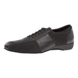 Diamant Herren Tanzschuh Ballroom Sneaker 143-225-380 schwarz Nappaleder / schwarz Microfaser