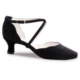 Anna Kern Damen Tanzschuh 572-50 Suede black