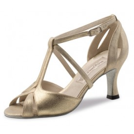 Werner Kern Damen Tanzschuh Amy Nappa perl nude 6,5 Nappa perl nude